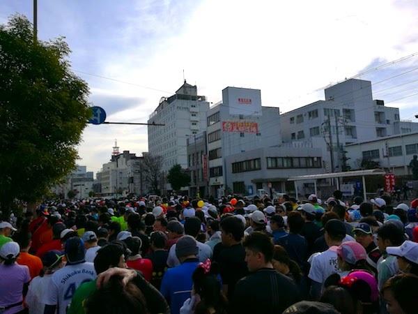 高知マラソン2018スタート