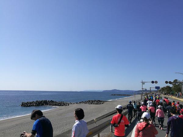 高知マラソン2018太平洋