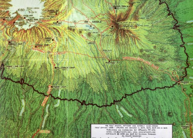 キリマン地図④