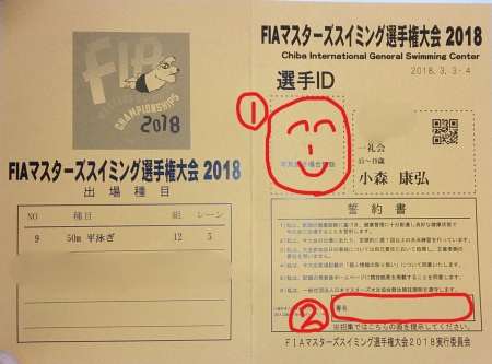 2018FIA表面IDカード