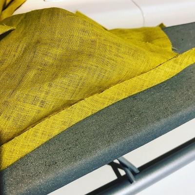 ブラウス製作中~ギャザーの縫い代始末