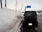 2018年2月15日・雪の壁2