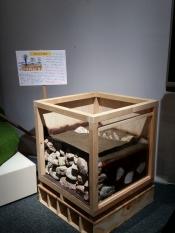 田んぼの構造模型