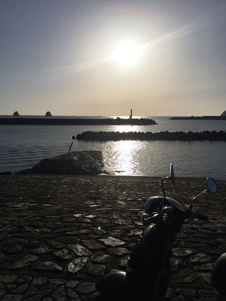 輝く海-2