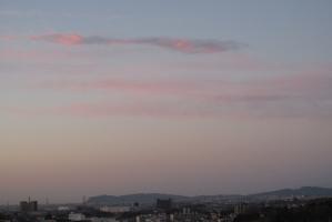 3月2日の朝焼け