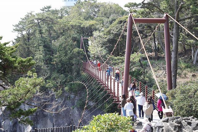 城ケ崎つり橋