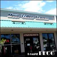 マウイ島のマウイコーヒーロースターズさんで買ったコーヒー