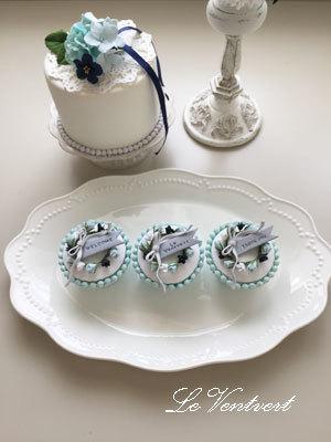 カップケーキ花冠