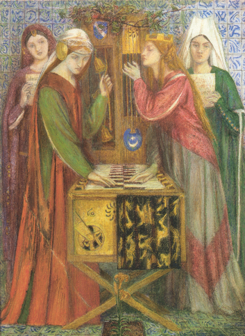 rossetti - blue cabinet