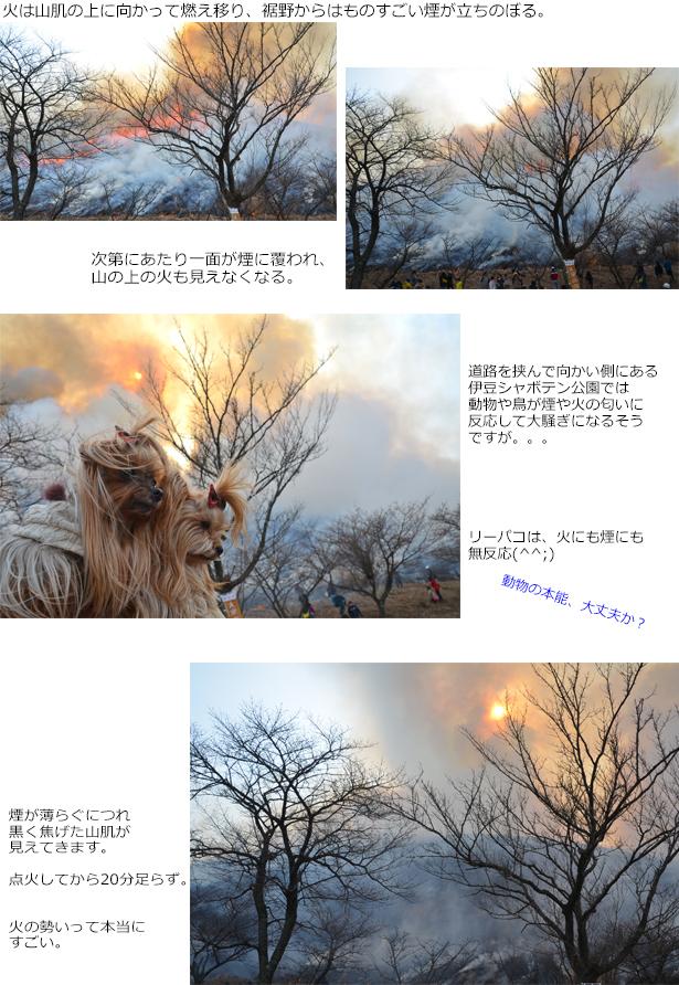 山焼2018②