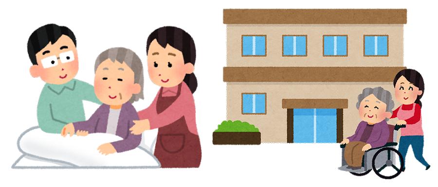 要介護者・介護施設・老人ホーム