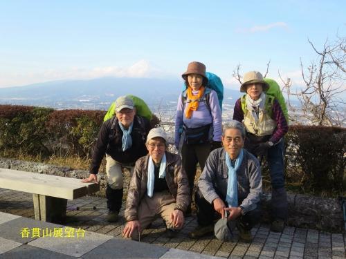 香貫山公園展望台