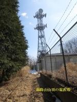 雨降山の電波塔
