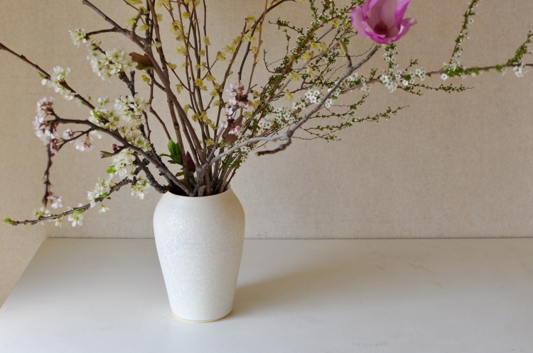 福岡彩子/flower vase (1)