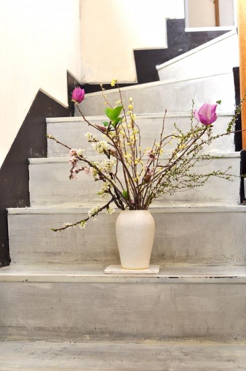 福岡彩子/flower vase (2)