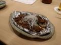 焼牡蠣の肉味噌掛け