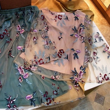 チュール刺繍460