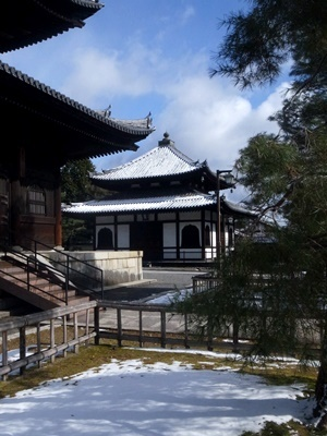 妙心寺雪景色1801