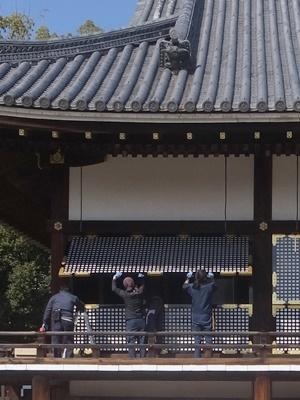 仁和寺金堂改修工事1803