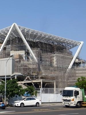 台南美術館建設中1803
