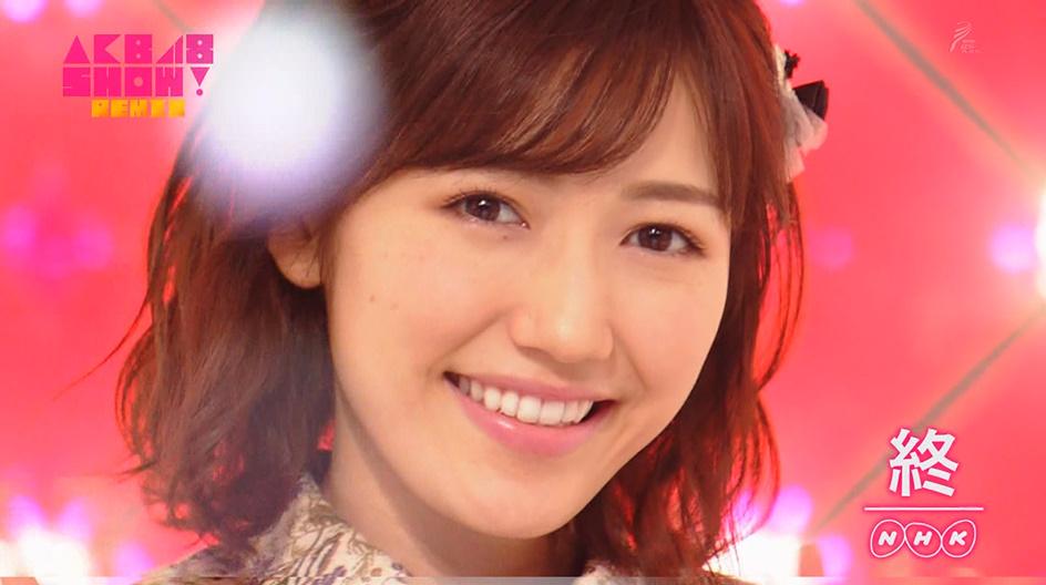 AKB48SHOW!【渡辺麻友】推しカメラ『11月のアンクレット』観てね!