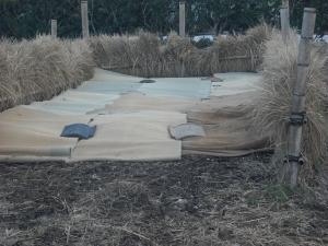 180323NO3の堆肥場一層作る