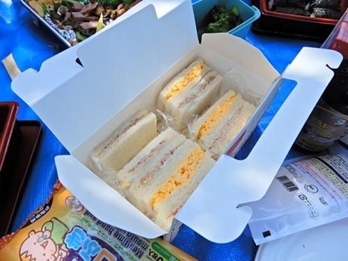 サンドイッチも
