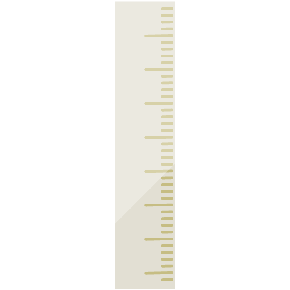 Free illustrations of a ruler