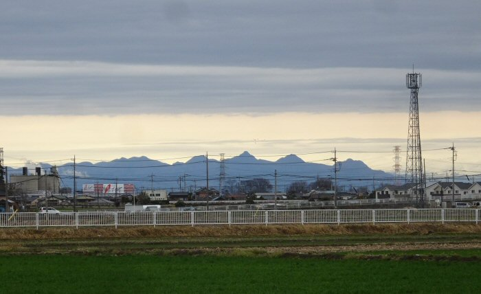 風の榛名山