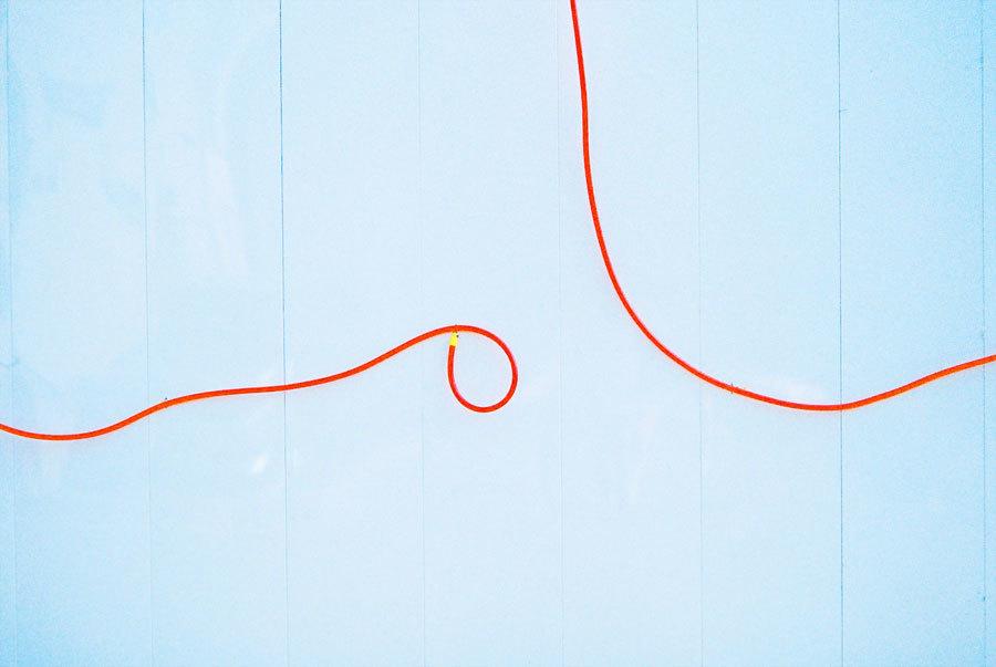 奇妙な配線ライン