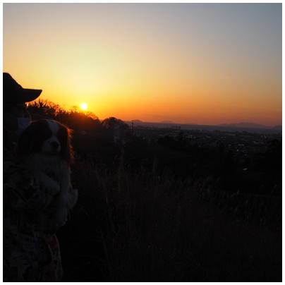 伊予灘の日没3