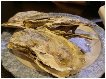 長崎県玄界灘の牡蠣2