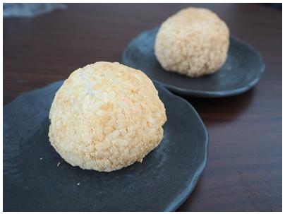 安川さん牡丹餅2