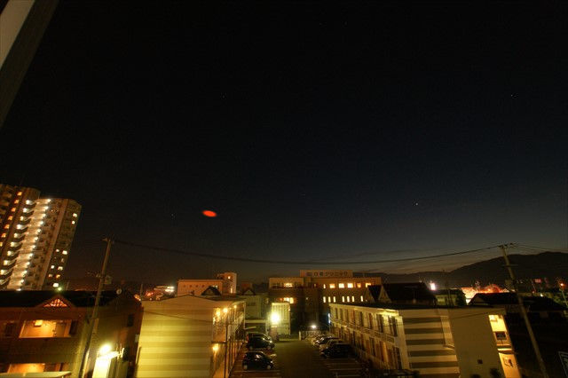 オレンジ色の彗星-1