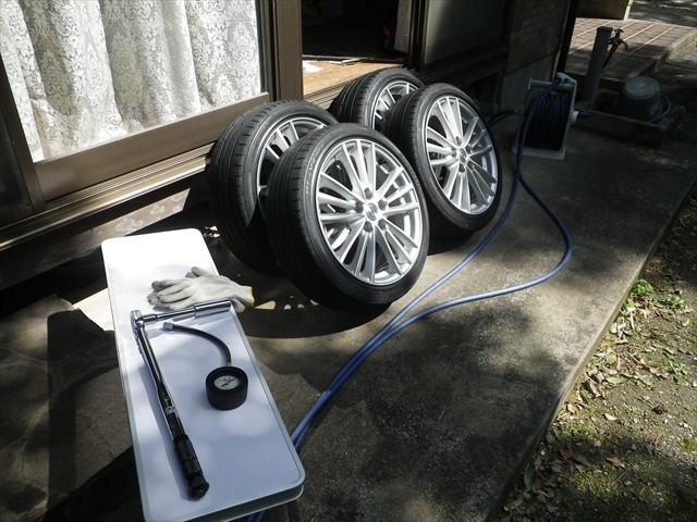 スイフト タイヤ交換-2