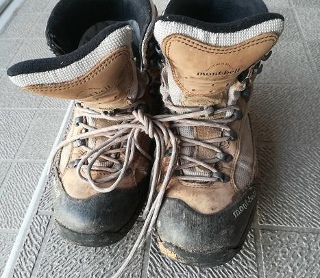 1 古い登山靴