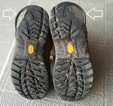 2 登山靴・底