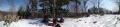 16 頂上のパノラマ写真