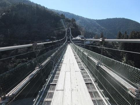 2 谷瀬の吊橋
