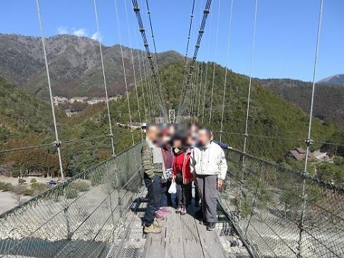 3 谷瀬の吊橋