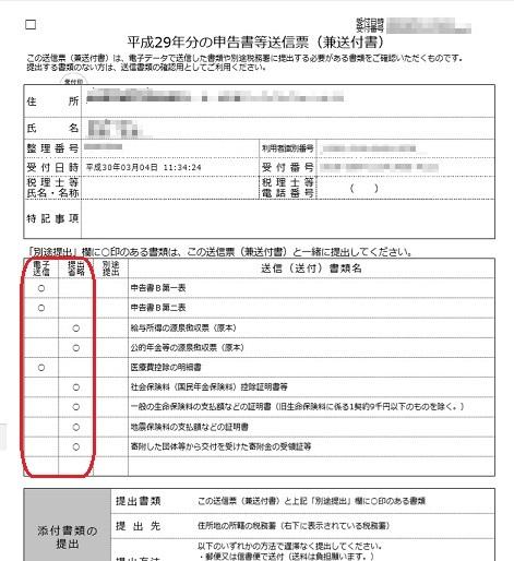4 e-tax送信票