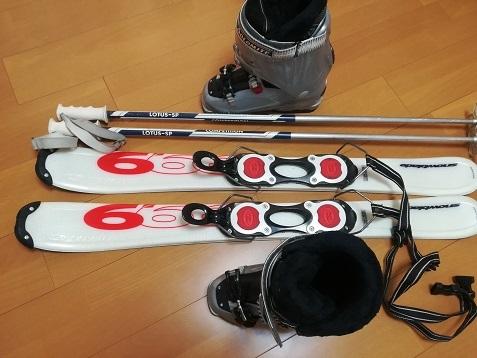 19 私のスキー道具
