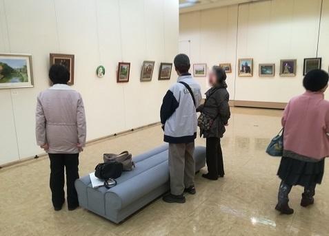 11 Nさんの絵画展