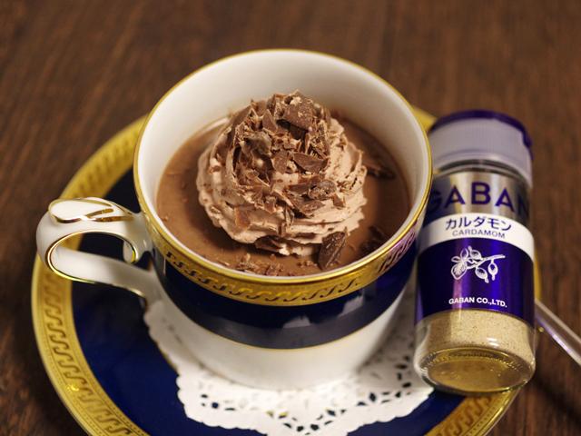 カルダモンとチョコと珈琲のカフェモカプリン00