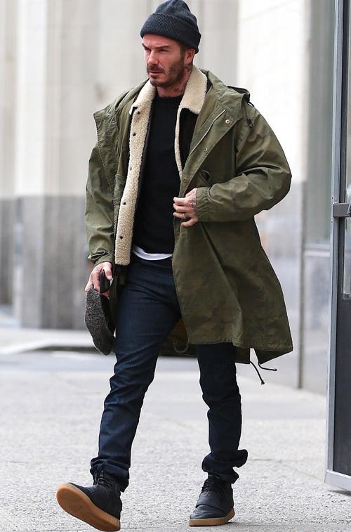 デヴィッド・ベッカム(David Beckham):ケント・アンド・カーウェン(Kent And Curwen)アディダス(Adidas)