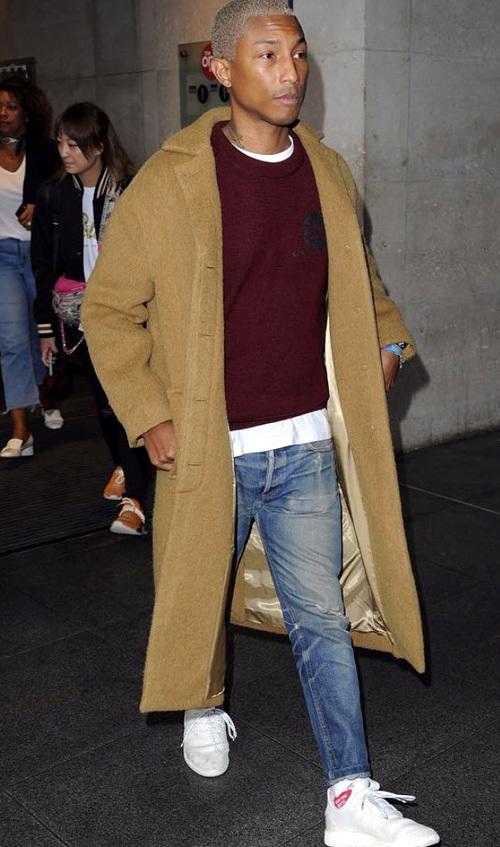 ファレル・ウィリアムス(Pharrell Williams):ヒューマンメイド(Human Made)アディダス(Adidas)