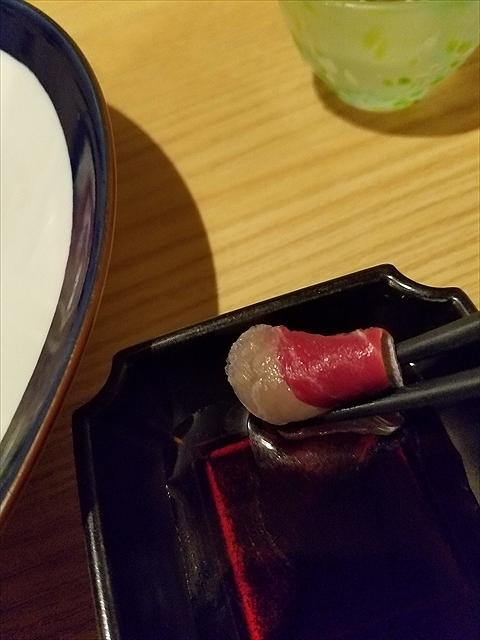 20171002_193938_R 甘みの強い九州の醤油、薬味の辛さとぴったり