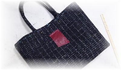 裂き織りトート19-1