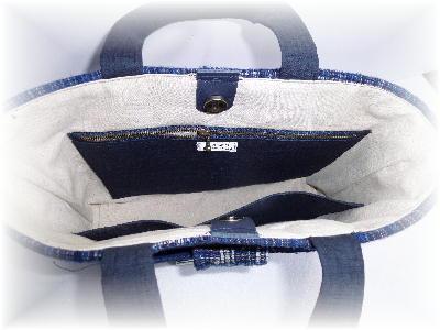 裂き織りトート20-4