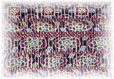 裂き織りマフラー21-2